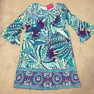 Lilly Pulitzer Bell Sleeve Dress - Size S